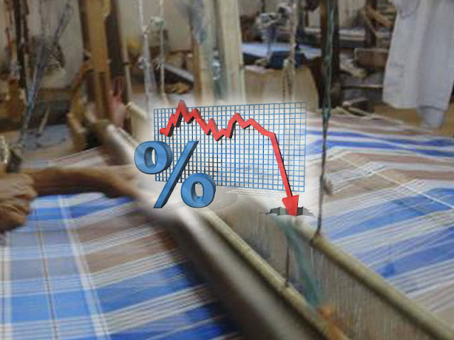 down fall of textile market in malegaon