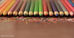 Na ponta do lápis.