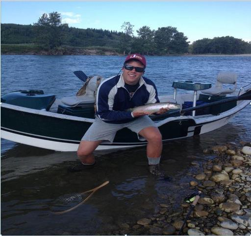 Bow river shuttles bow river fishing report wednesday for Weekly fishing report mi