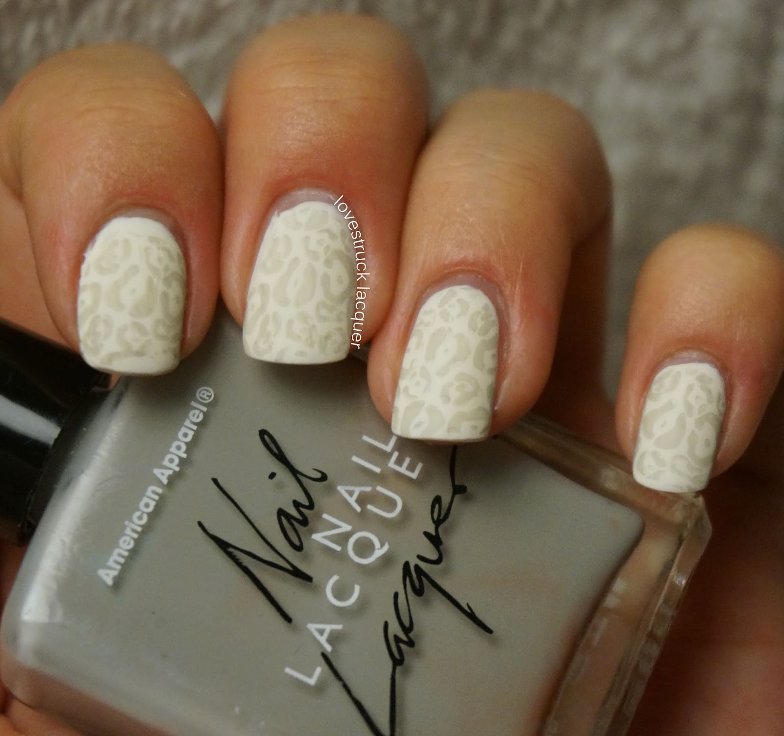 White Nail Polish In Winter: Lovestruck Lacquer: Busy Girl Nails Winter Nail Art