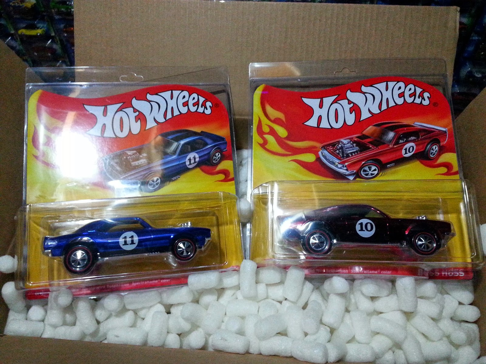 Hot Wheels 1:24 Boss Hoss & Heavy Chevy   pcrome Hot Wheels collections