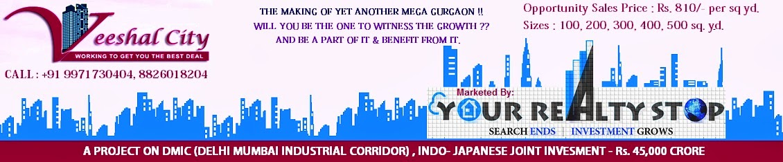 Veeshal City Plots Jaipur (Phulera) on DMIC (Delhi Mumbai Industrial Corridor)