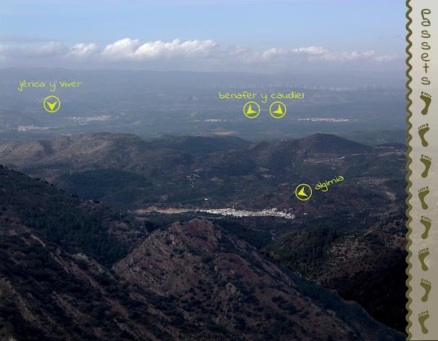 Espadán 5 - Vistas de Jérica, Viver, Benafer, Caudiel y Algimia desde Pico Espadán