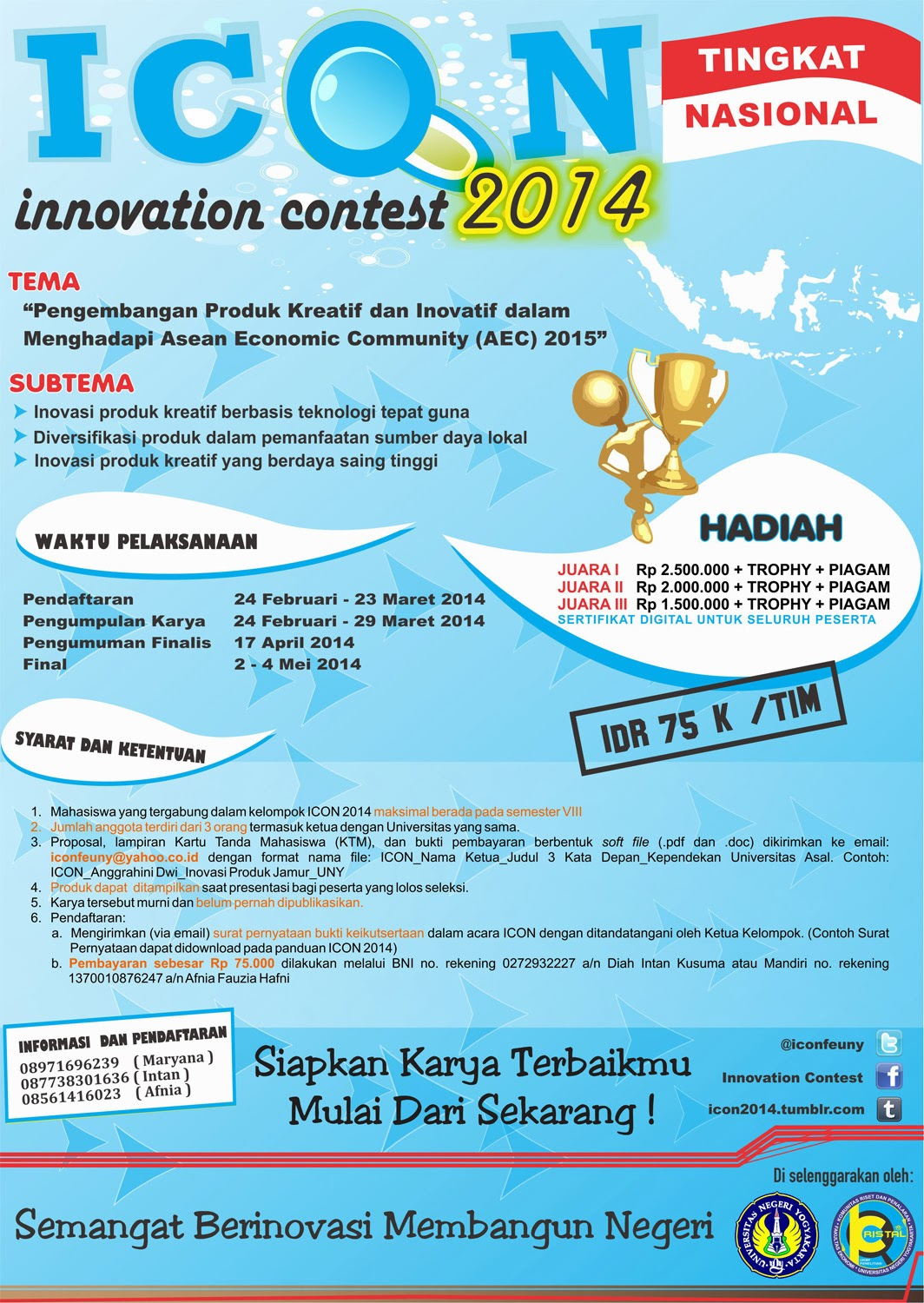 Innovation Contest 2014 uny