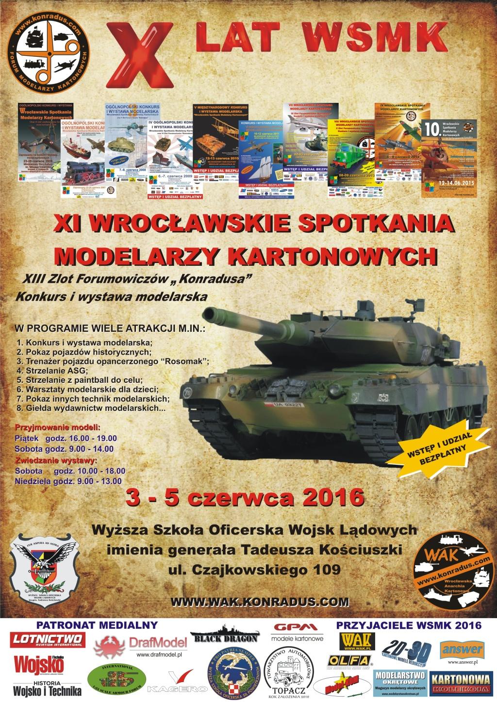 XI Wrocławskie Spotkania Modelarzy Kartonowych