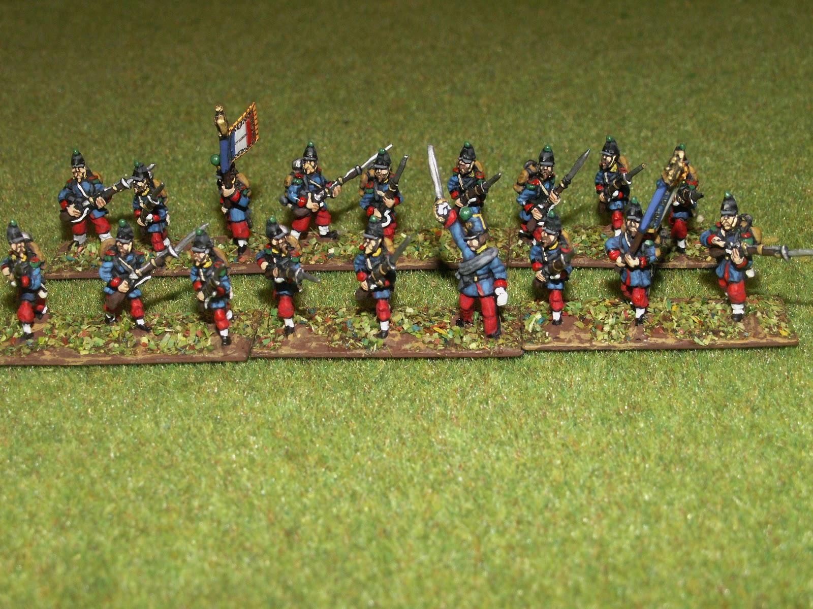 Tenue de cagne infanterie en tenue de cagne ancien uniforme