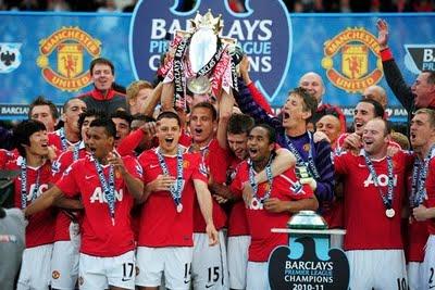 Manchester United Campeón Premier League