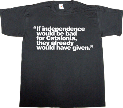 spain is different catalan catalonia freedom independence t-shirt ephemeral-t-shirts