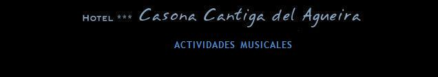 ACTIVIDADES MUSICALES