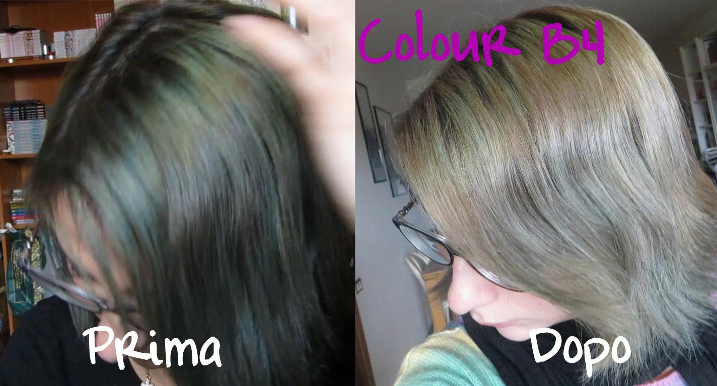 Permanente per capelli decolorati