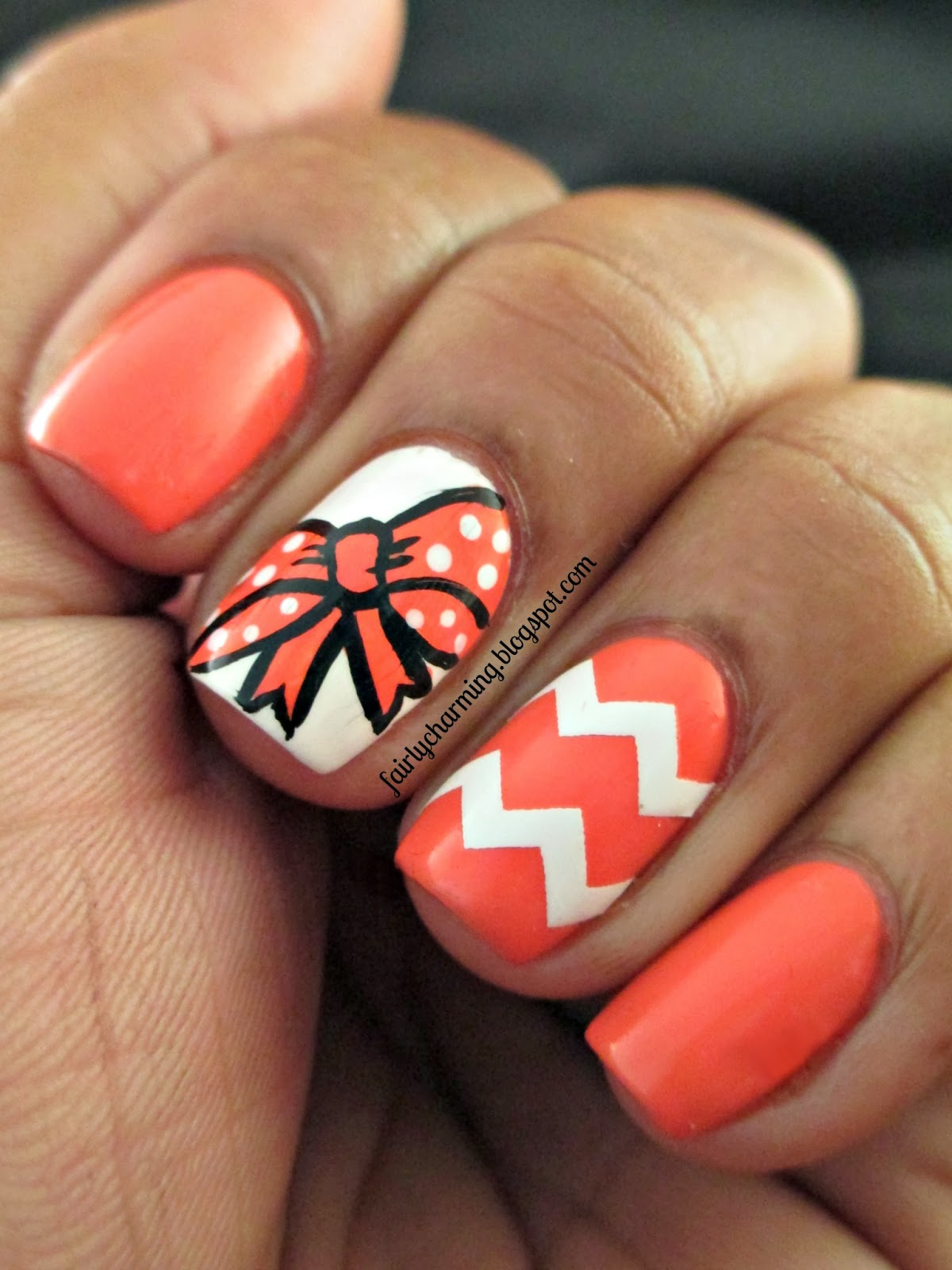 Nail Designs With Bows And Diamonds: Nails designs with bows and ...