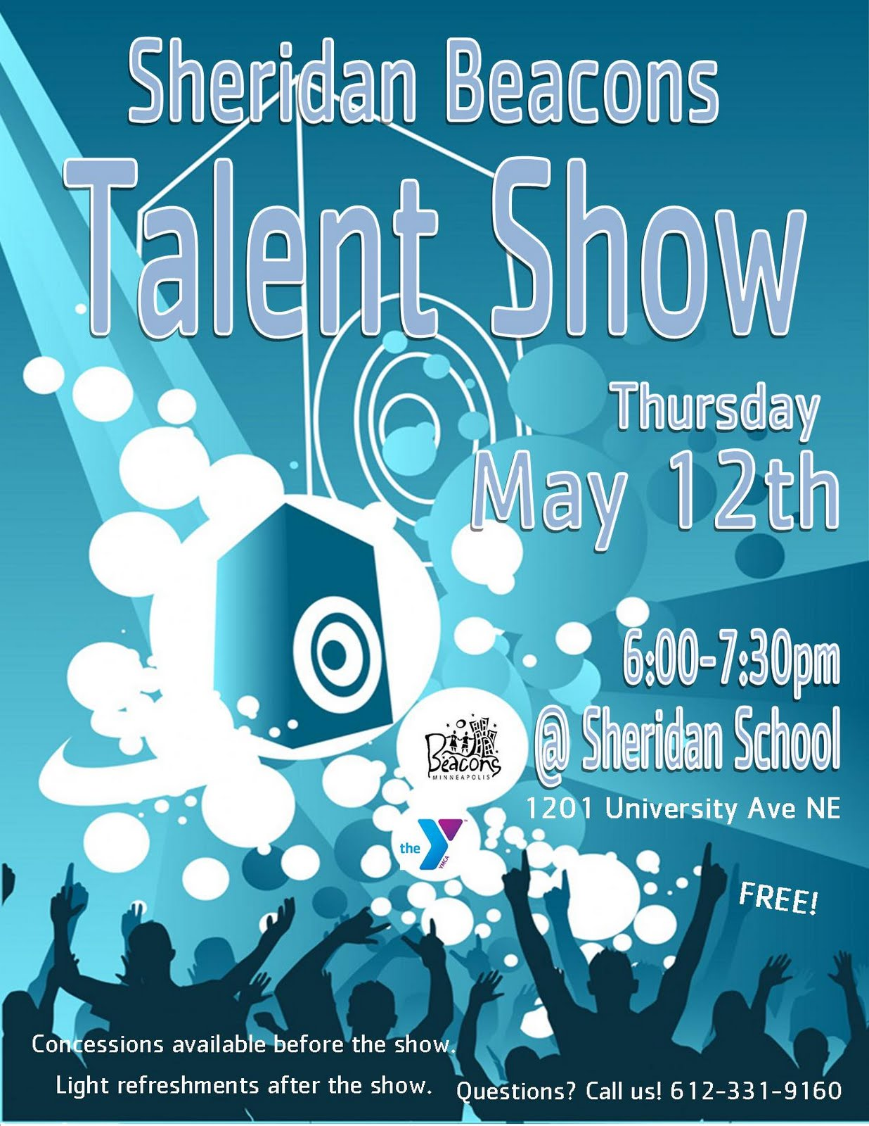 talent show flyer template