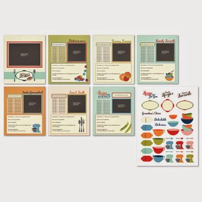 Made From Scratch Recipes Designer Template Digital Download