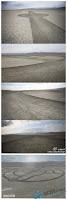 Avistamiento OVNI 2011 – UFO- en el 2011 Sand-circle1