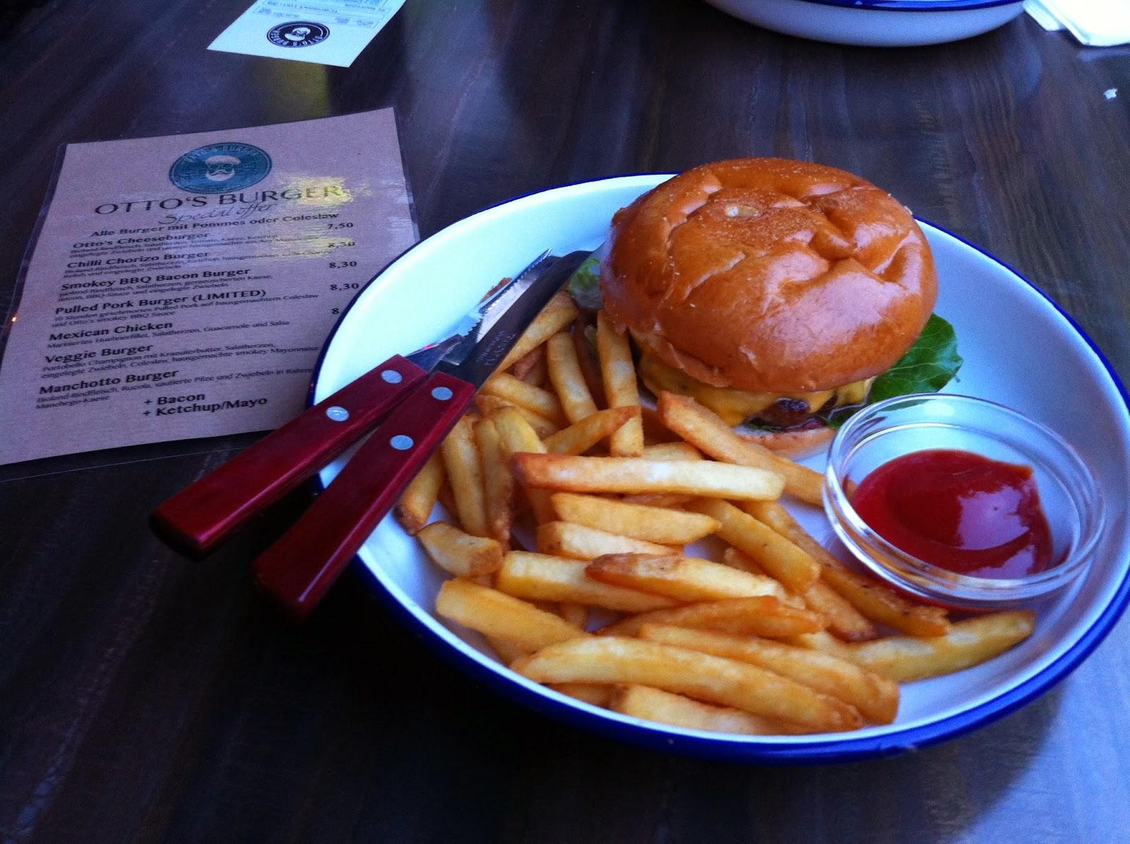 Kakaoklo otto 39 s burger for Ottos burger hamburg