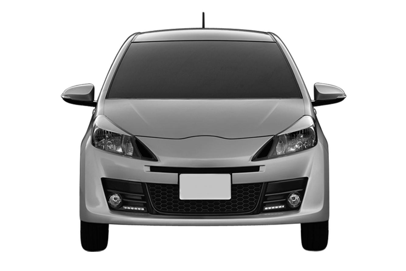 US Toyota Yaris look like