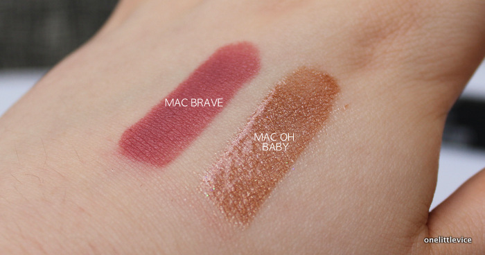 One Little Vice Beauty Blog: Kylie Jenner Mac Lipstick Shades Swatched