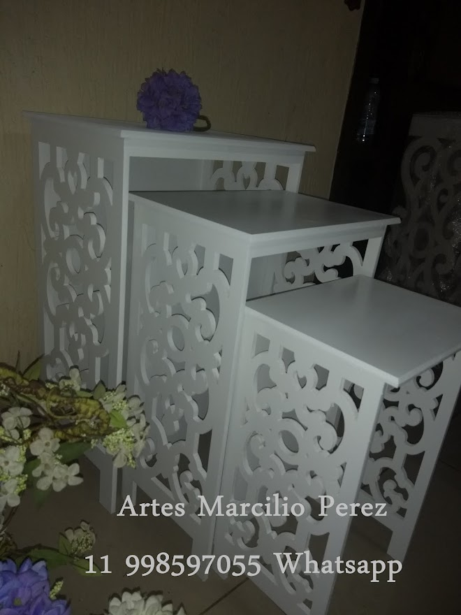 trio de mesas Veneza