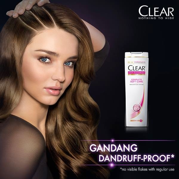 Have Nothing to Hide with the New Clear Anti-Dandruff Shampoo with Nutrium 10