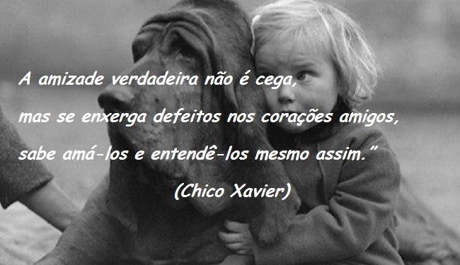 Amizade Chico Xavier - Pensador