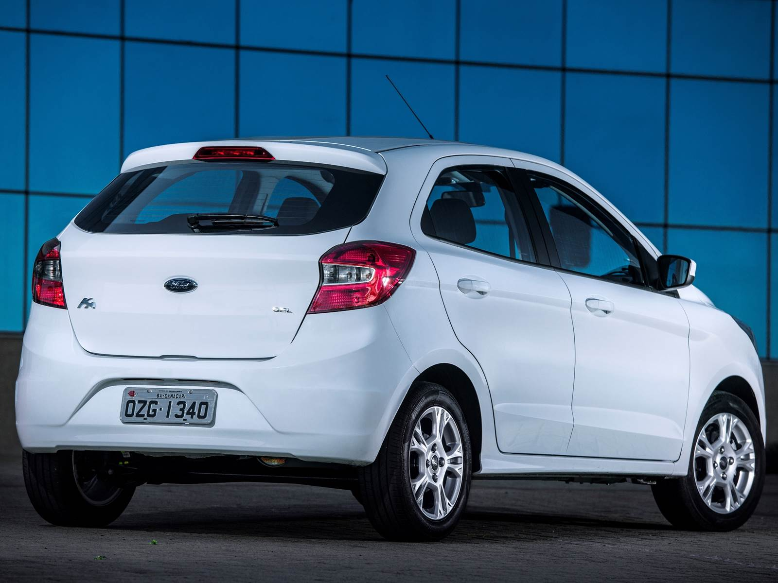 Novo Ford KA SE 2015 Hatch 1.0
