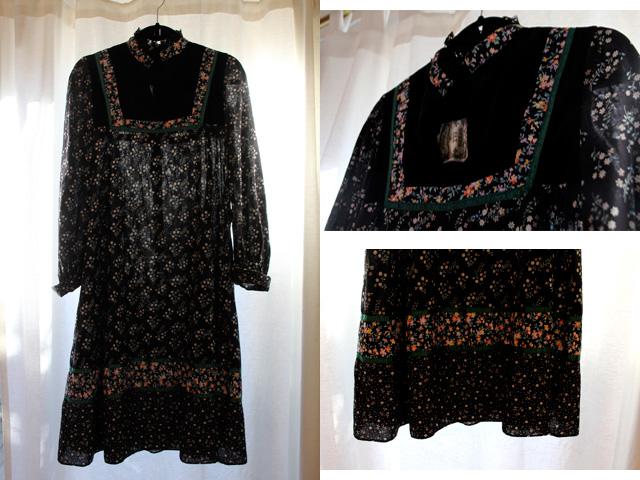 vintage Gunne Sax dress