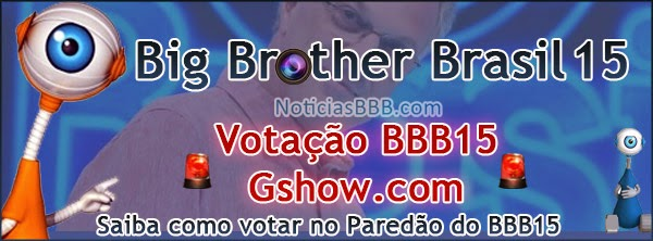 BBB15 Paredão como votar