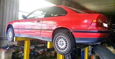 DESPIECE DE BMW E36 320i COUPE ( TIPO DE MOTOR G 20 6S Z ) 215.000 Km