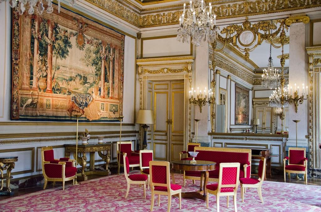 Hortibus hotels particuliers de paris le palais royal conseil d 39 etat - Salon de the palais royal ...