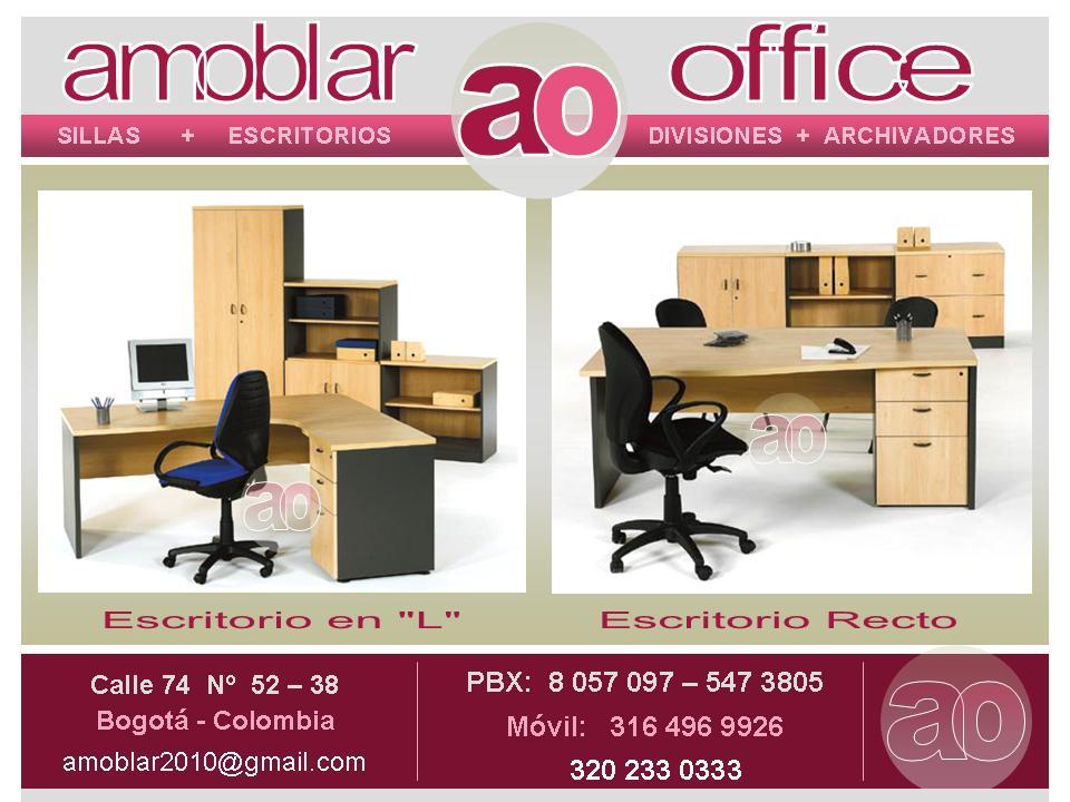 Amoblar office muebles para oficina bogota pbx 57 1 for Muebles de oficina office