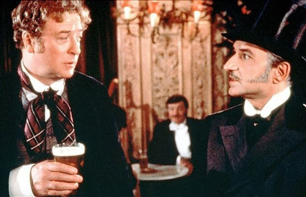 Ben Kingsley and Michael Caine in Without a Clue