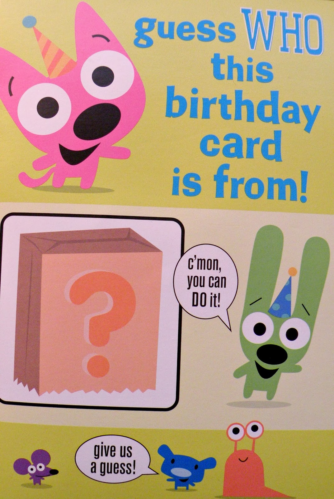 Missionary Mail cRaZy Cards – Hoops and Yoyo Birthday Card