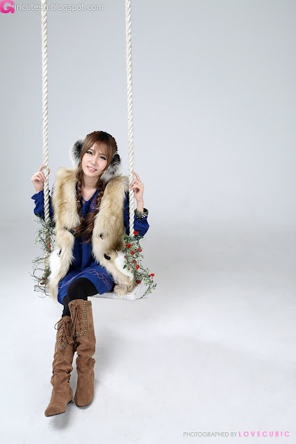 4 Jang Jung Eun - Winter Style-very cute asian girl-girlcute4u.blogspot.com