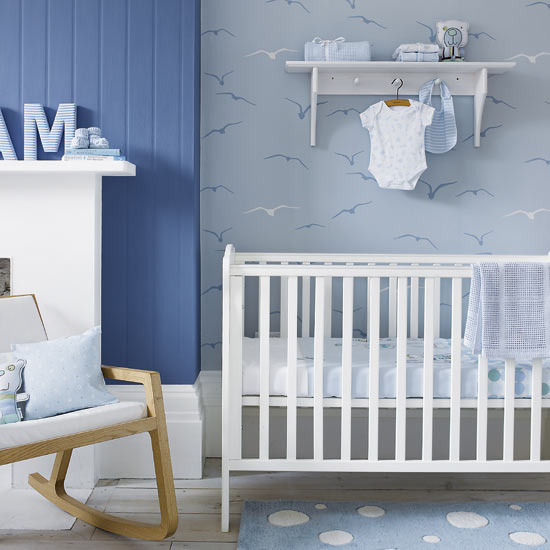 Baby Boy Blue Nursery Ideas