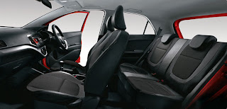 interior all new kia picanto