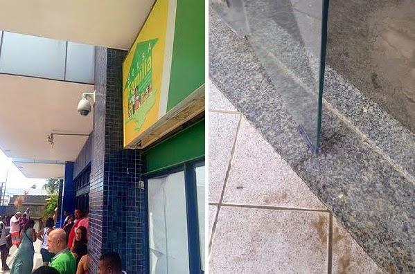 Sede do Bolsa Família de Lauro de Freitas é arrombada. (Foto: Divulgação/Prefeitura de Lauro de Freitas)