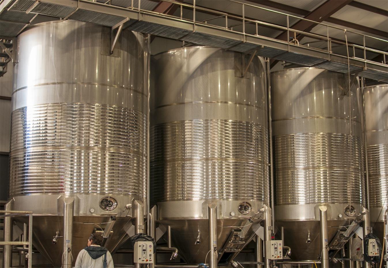 Cubas de fermentación