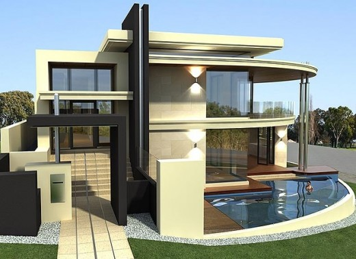 New home designs latest modern unique homes designs for Custom modern home plans