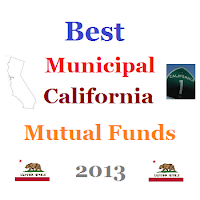 Best Muni California Intermediate Mutual Funds 2013