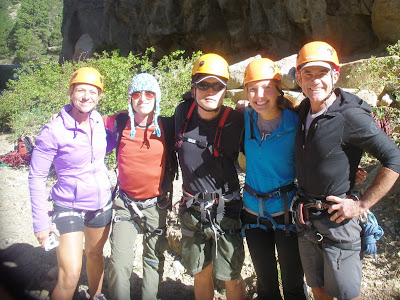 Benjamin Rubenstein and multi-pitch rock-climbing team in Nederland, CO