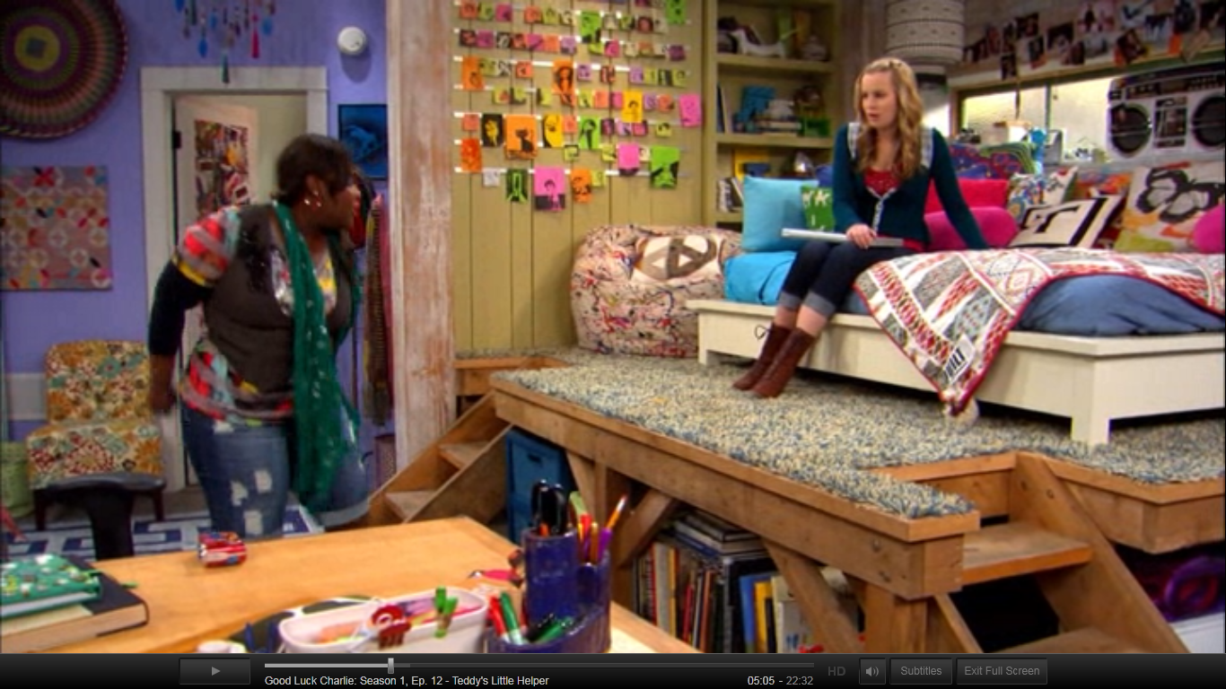 From good luck charlie teddys bedroom