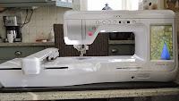 Mijn borduur/naaimachine: