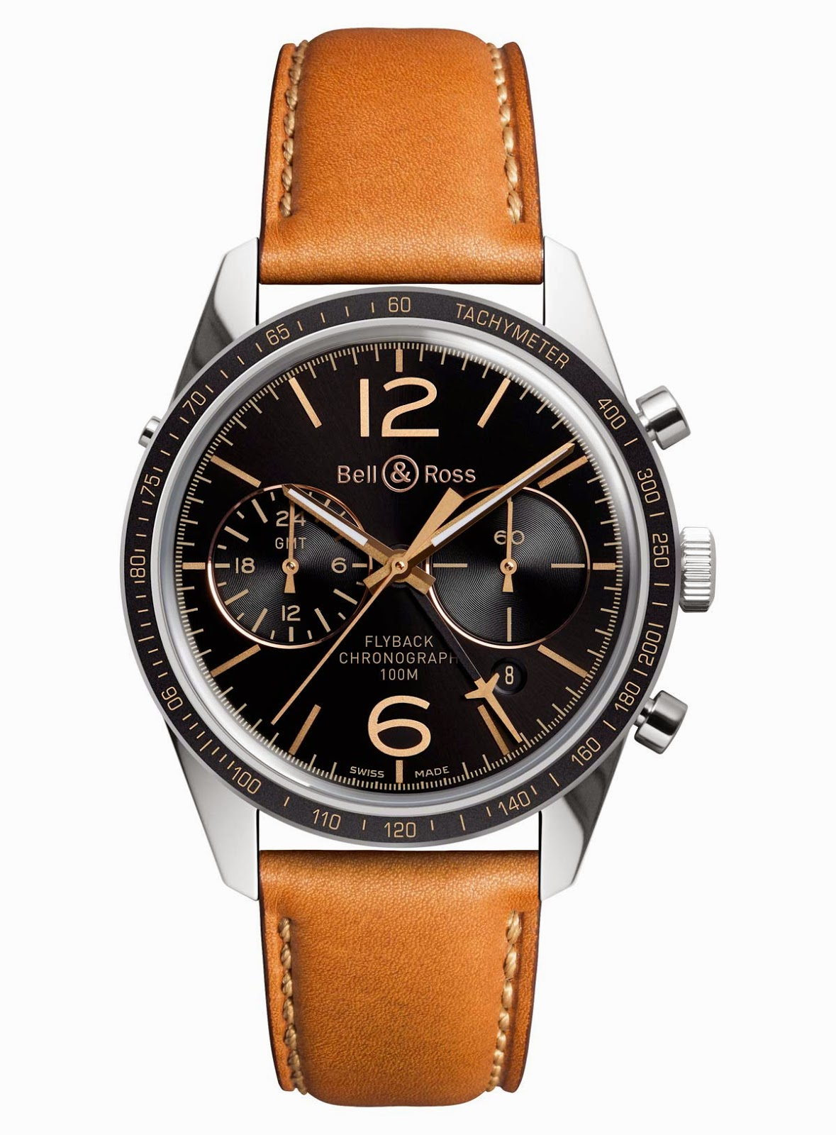 Bell & Ross - BR 126 Sport Heritage GMT & Flyback Bell%26Ross-Vintage-BR-126-Heritage-GMT-Flyback