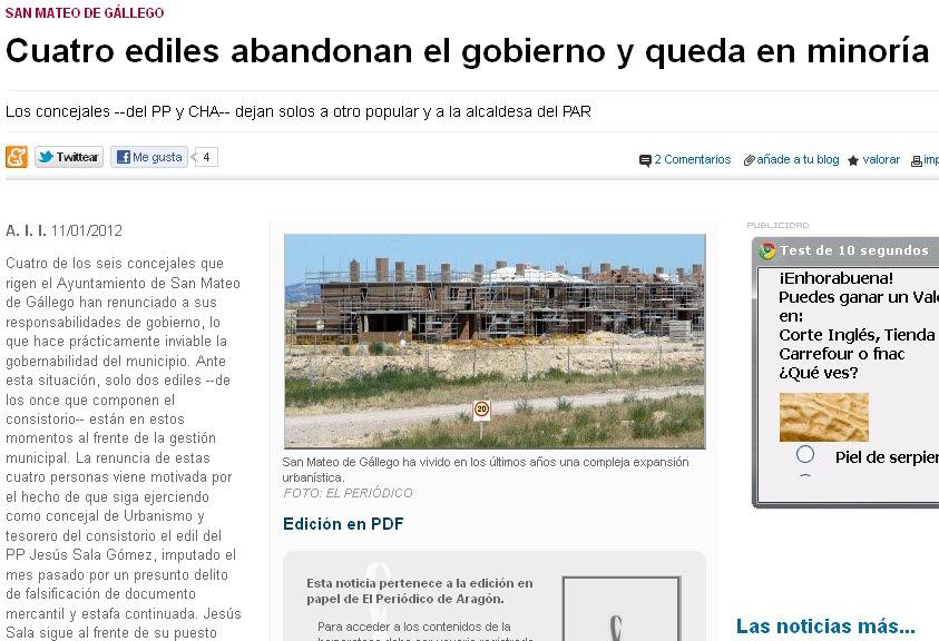 El blog de san mateo de g llego cuatro concejales 2 del - El tiempo en san mateo de gallego ...