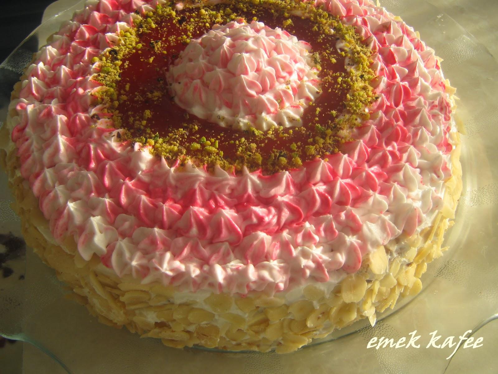 ev yapımı yaş pasta