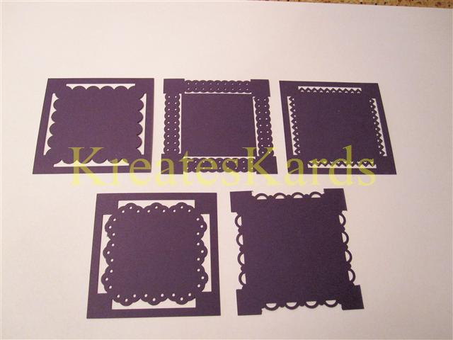 kreateskards look what you can create using stampin up border