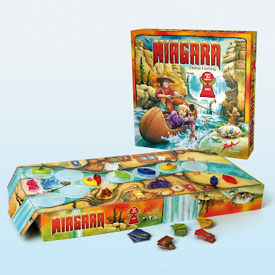 Niagara - The box and game components