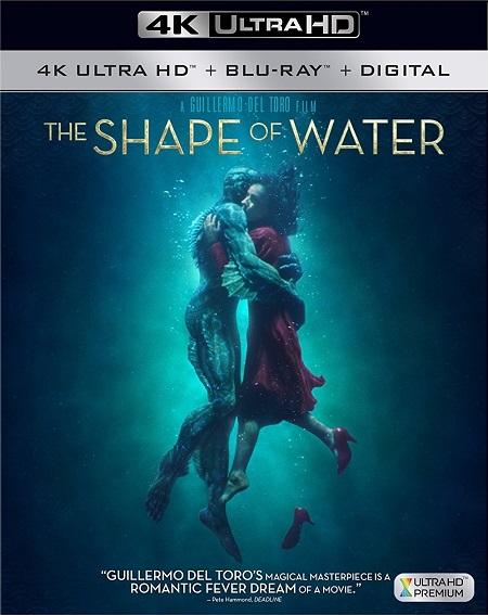 The Shape of Water 4K (La Forma del Agua 4K) (2017) 2160p 4K UltraHD HDR BluRay REMUX 49GB mkv Dual Audio DTS-HD 5.1 ch