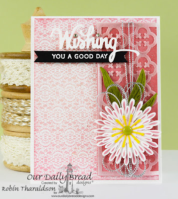 Our Daily Bread Designs Stamp Set: Wishing Words, Our Daily Bread Designs Custom Dies: Wishing, Asters and Leaves, Quatrefoil Pattern, Our Daily Bread Designs Heart and Soul Paper Collection