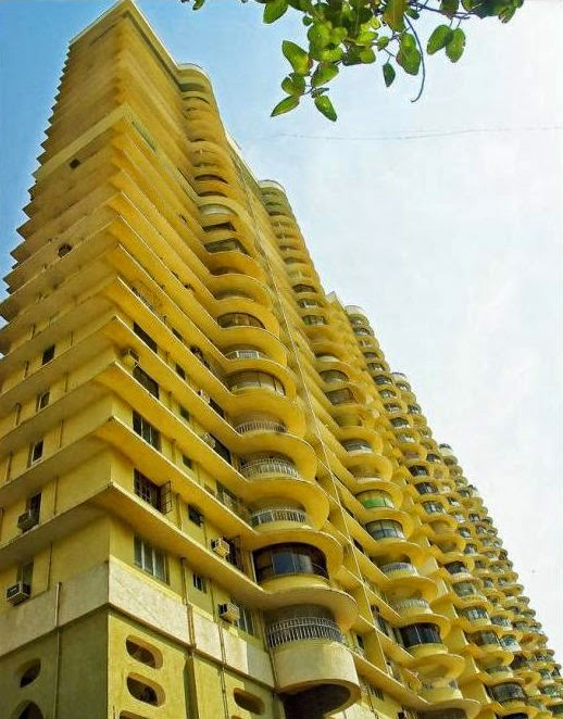 Formidable heights of the Grand Paradi Towers